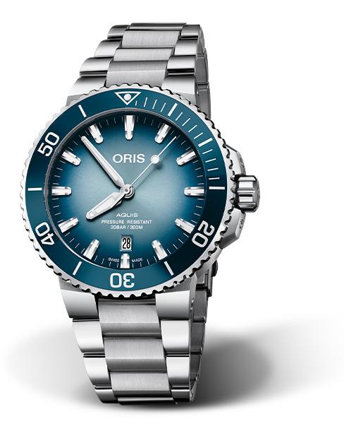 オリス ORIS 01 733 7730 4175-Set アクイス デイト レイクバイカル限定モデル 世界限定1999本 正規品 腕時計