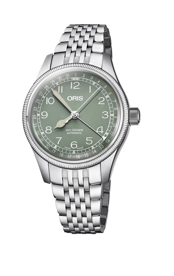 正規品 ORIS オリス 01 754 7749 4067-07 8 17 22 ビッグクラウン ポインターデイト 腕時計