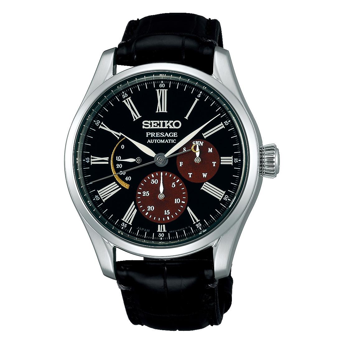 正規品 SEIKO PRESAGE セイコープレザージュ SARW045 プレステージモデル 漆・白檀塗限定モデル 限定2000本 腕時計