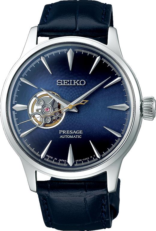 プレザージュ PRESAGE セイコー SEIKO SARY155 ベーシックライン ミッドナイトカクテルタイム ブルームーン 正規品 腕時計