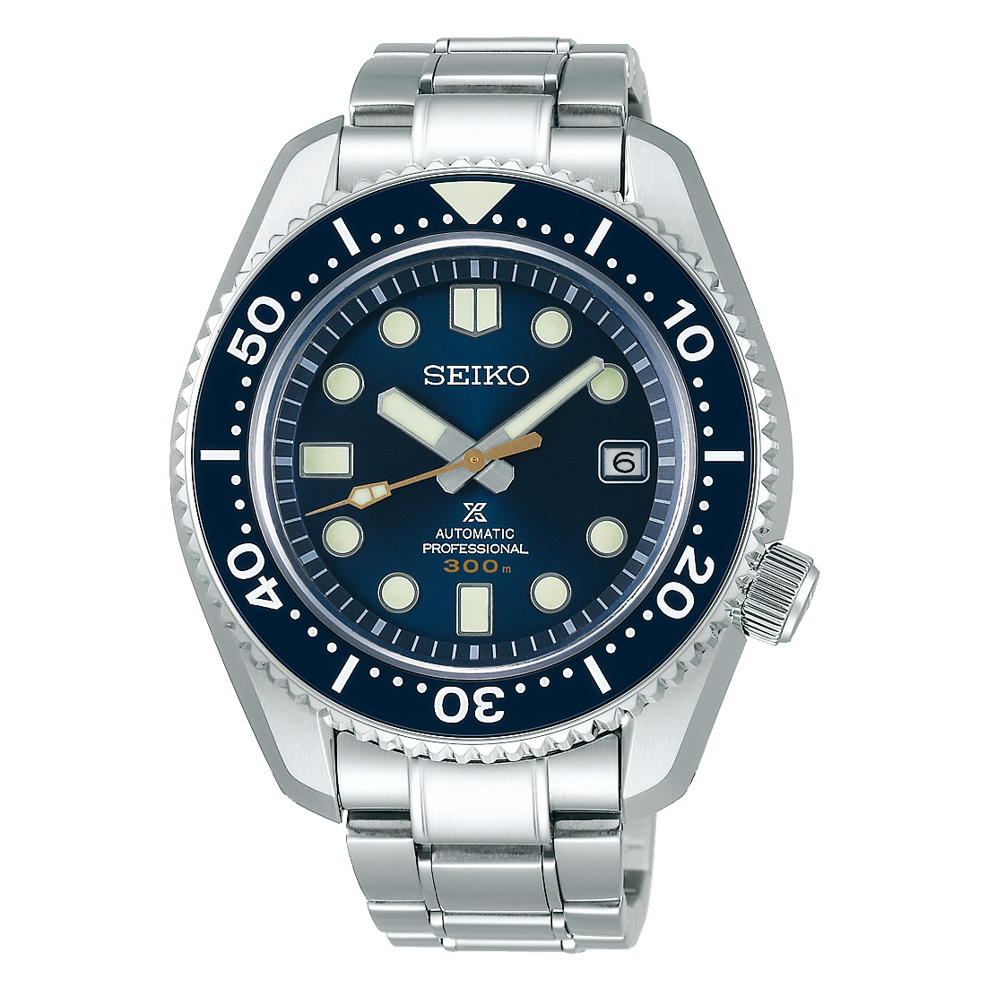 プロスペックス PROSPEX セイコー SEIKO SBDX025 マリーンマスター プロフェッショナル 替えシリコンバンド付き コアショップ限定 正規品 腕時計