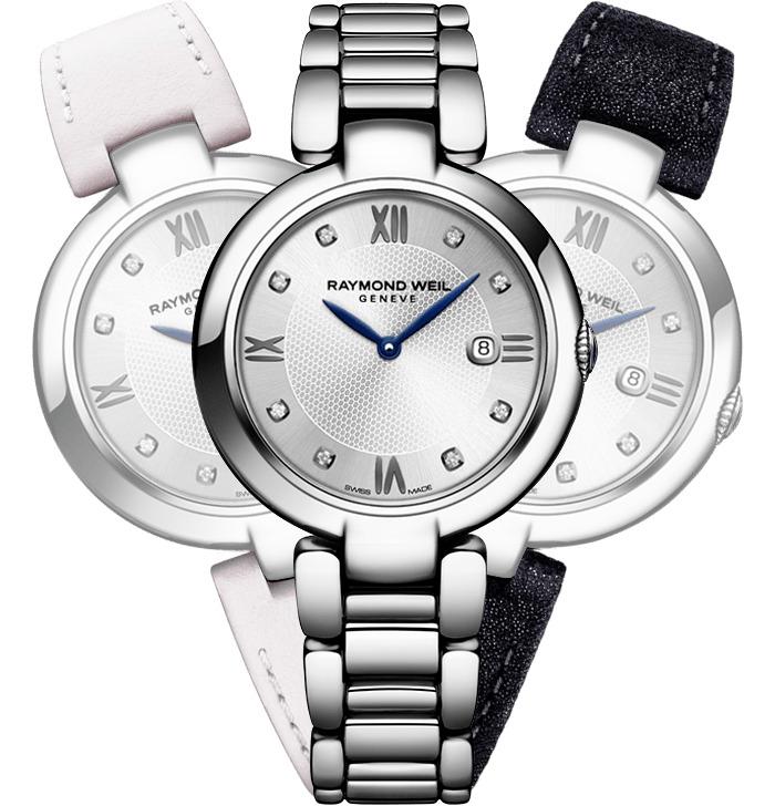 レイモンドウェイル RAYMOND WEIL 1600-ST-RE695 シャイン クォーツ 替えバンド付き 正規品 腕時計