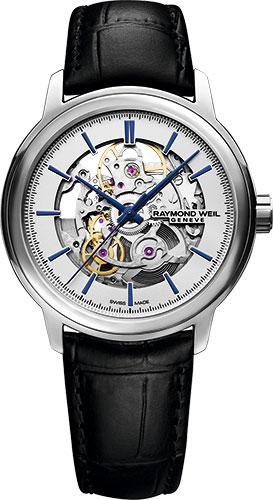 レイモンドウェイル RAYMOND WEIL 2215-STC-65001 マエストロ オートマチック スケルトン 正規品 腕時計