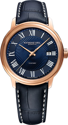 【9/30までブライダル用途でのご購入でペアマグカッププレゼント】 正規品 RAYMOND WEIL レイモンドウェイル 2237-PC5-00508 マエストロ 日本限定モデル 腕時計