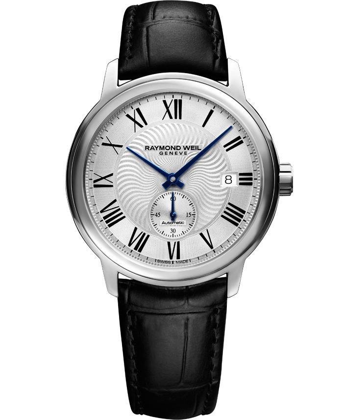 【9/30までブライダル用途でのご購入でペアマグカッププレゼント】 正規品 RAYMOND WEIL レイモンドウェイル 2238-STC-00659 マエストロ オートマチック スモールセコンド 腕時計