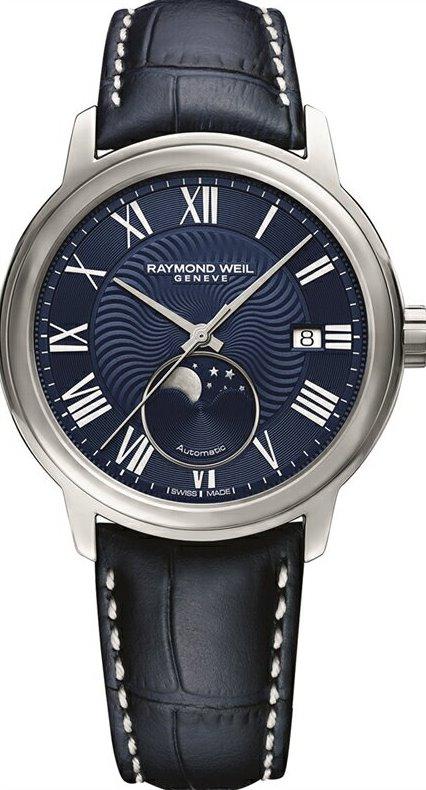 レイモンドウェイル RAYMOND WEIL 2239-STC-00509 マエストロ オートマチック ムーンフェイズ 正規品 腕時計