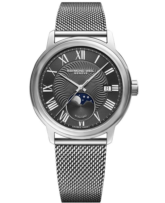 正規品 RAYMOND WEIL レイモンドウェイル 2239M-ST-00609 マエストロ オートマチック ムーンフェイズ 腕時計