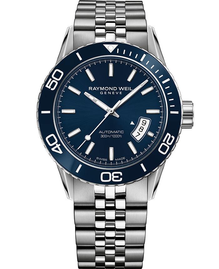 正規品 RAYMOND WEIL レイモンドウェイル 2760-ST3-50001 フリーランサー オートマチック デイト 腕時計