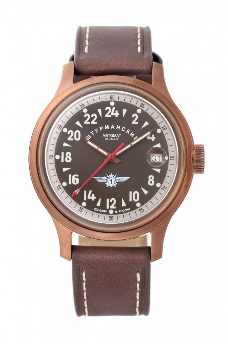 正規品 STURMANSKIE シュトゥルマンスキー 2431-1768939 オープンスペース 24時間時計 腕時計