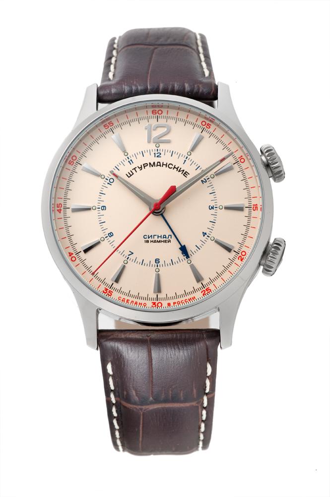 正規品 STURMANSKIE シュトゥルマンスキー 2612-1801731 ストレラ アラーム 腕時計