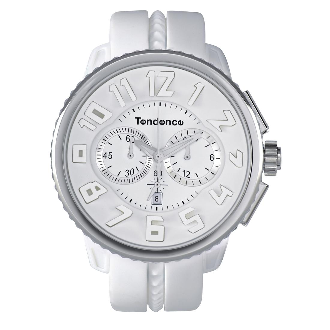 【今ならオーバーサイズノートプレゼント】 テンデンス Tendence TG036013 ガリバー ラウンド クロノグラフ 正規品 腕時計