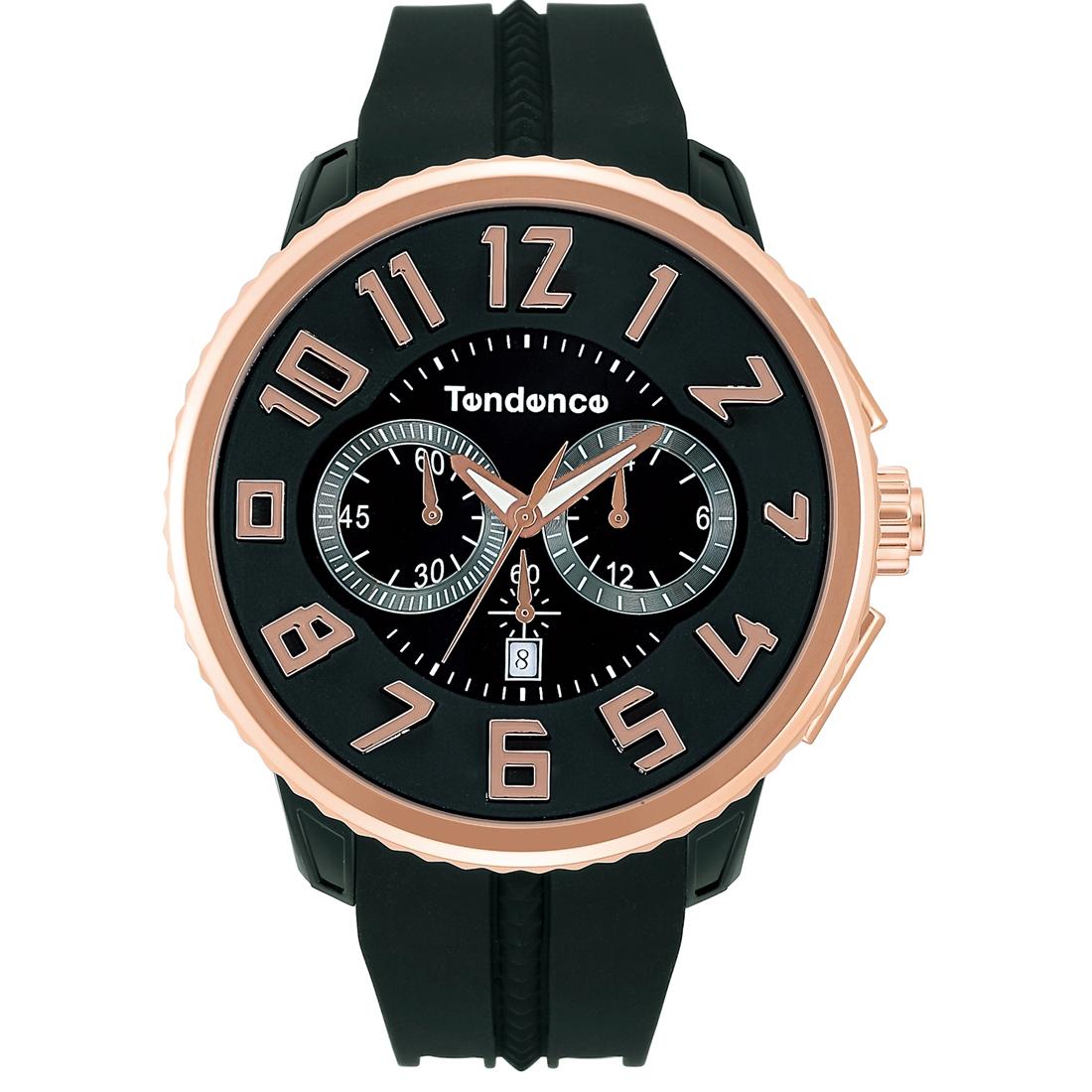 【今ならオーバーサイズノートプレゼント】 テンデンス Tendence TG046012R ガリバー ラウンド クロノグラフ 正規品 腕時計