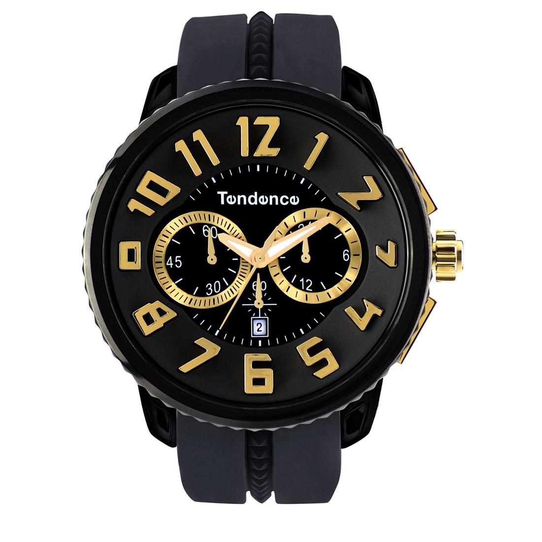 【今ならオーバーサイズノートプレゼント】 テンデンス Tendence TG460011 ガリバー ラウンド クロノグラフ 正規品 腕時計