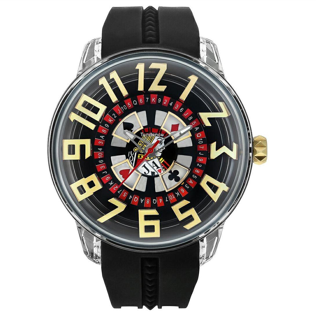 【今ならオーバーサイズノートプレゼント】 テンデンス Tendence TY023005 キングドーム 正規品 腕時計