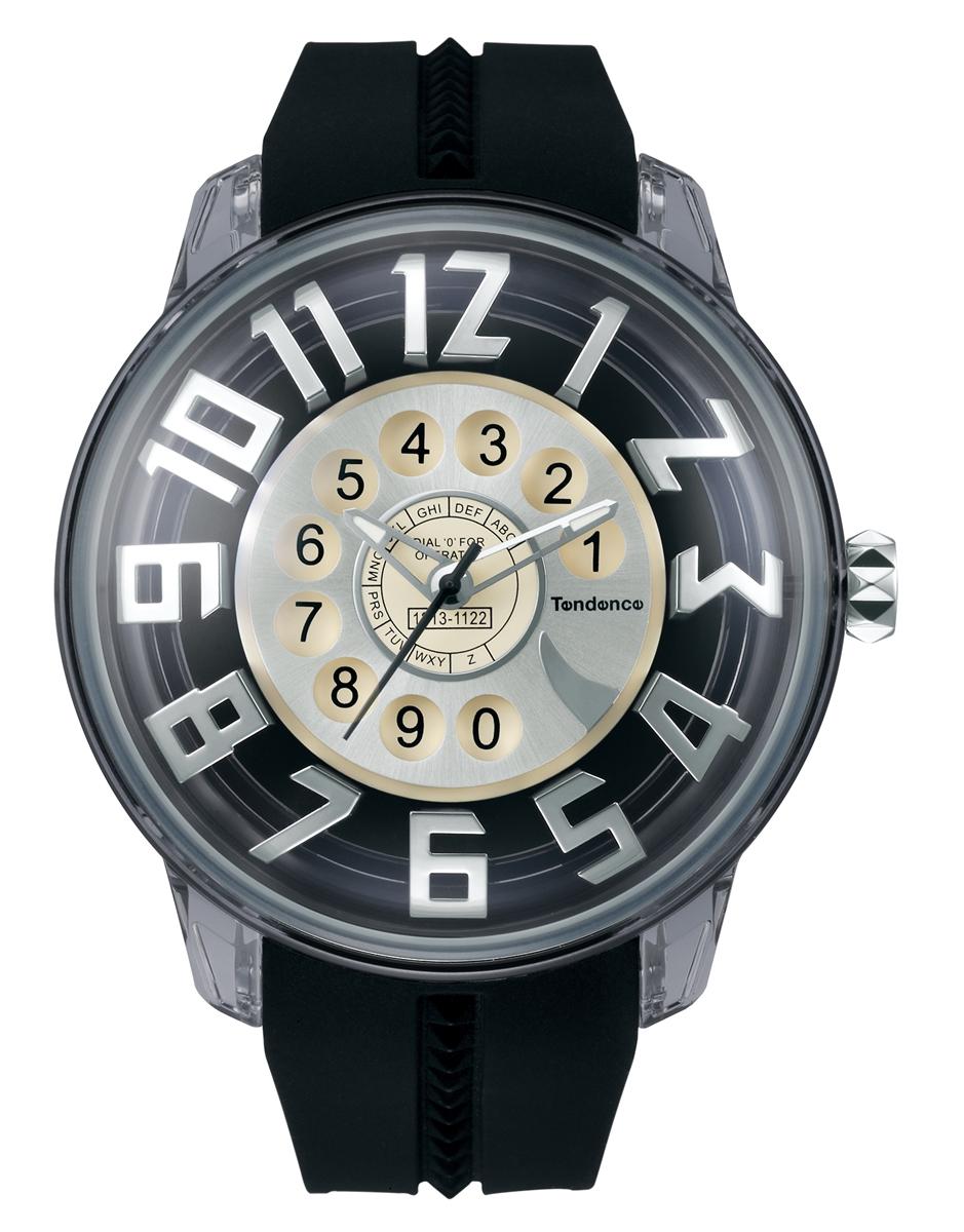 【今ならオーバーサイズノートプレゼント】 テンデンス Tendence TY023010 キングドーム ヴィンテージフォン 正規品 腕時計