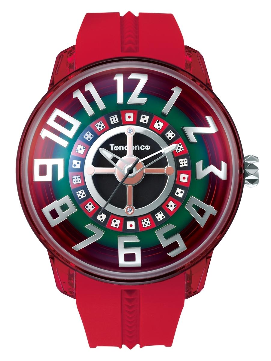 【今ならオーバーサイズノートプレゼント】 テンデンス Tendence TY023011 キングドーム ダイス 正規品 腕時計