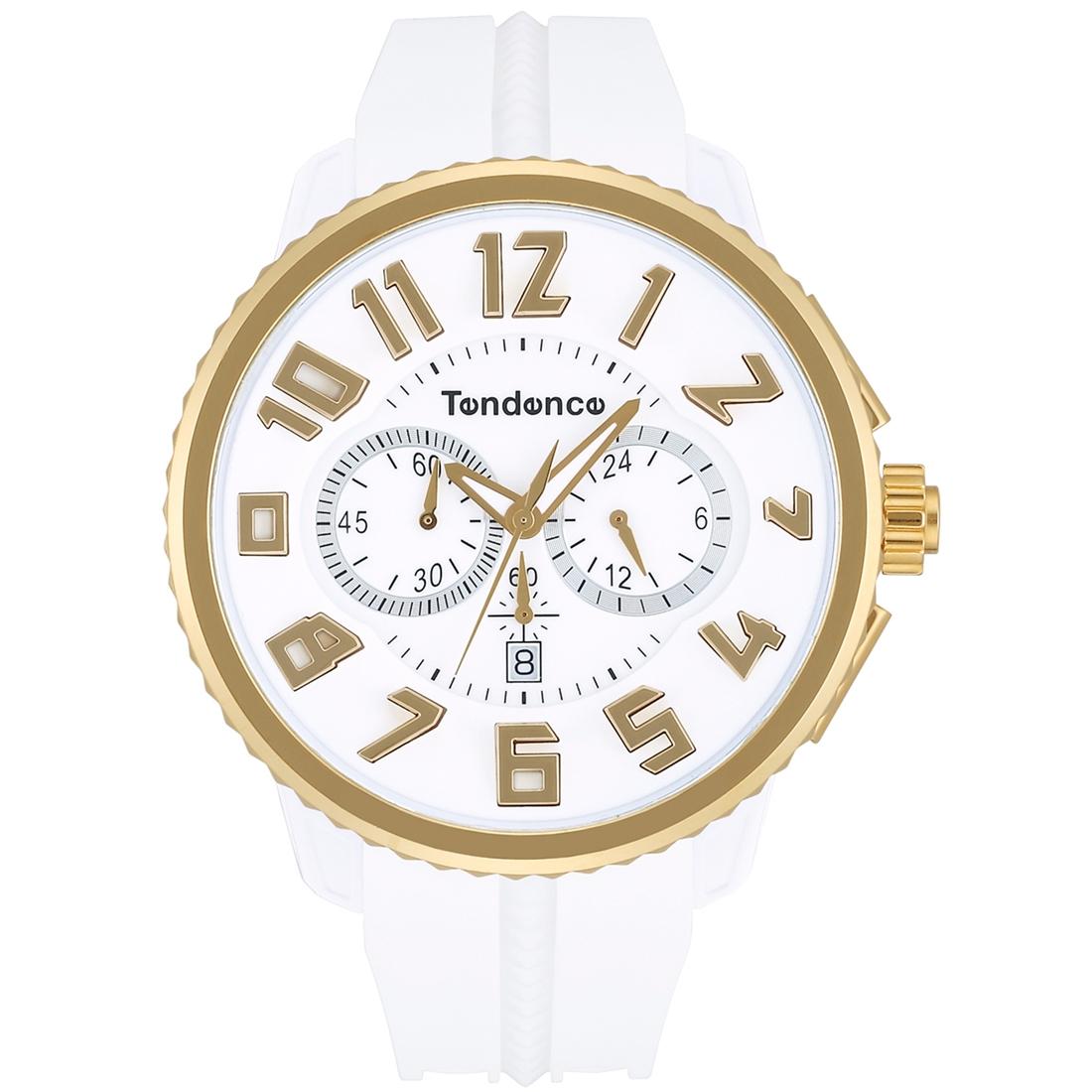 【今ならオーバーサイズノートプレゼント】 テンデンス Tendence TY046019 ガリバー ラウンド 正規品 腕時計