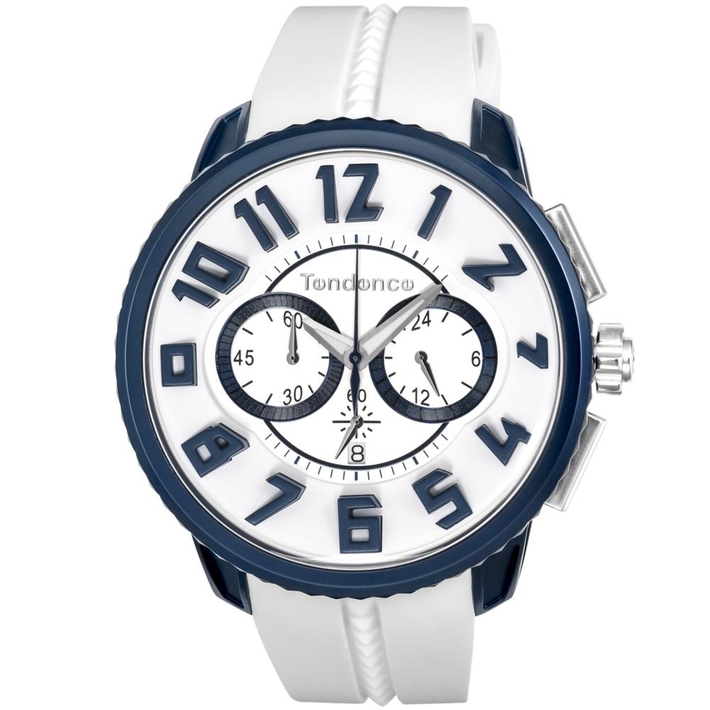 【今ならオーバーサイズノートプレゼント】 テンデンス Tendence TY146001 アルテックガリバー クロノグラフ 正規品 腕時計