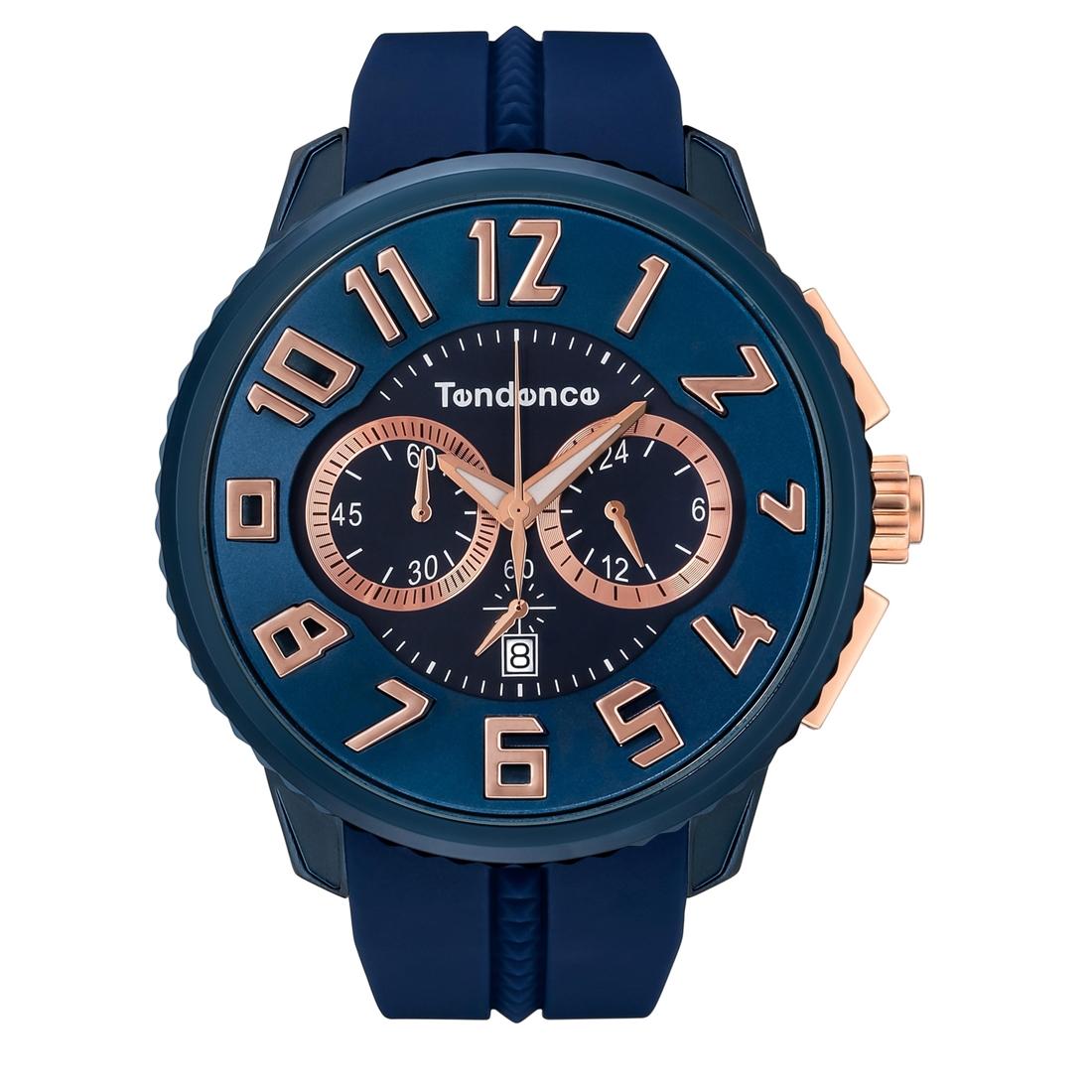 【今ならオーバーサイズノートプレゼント】 テンデンス Tendence TY146008 アルテックガリバー クロノグラフ 正規品 腕時計
