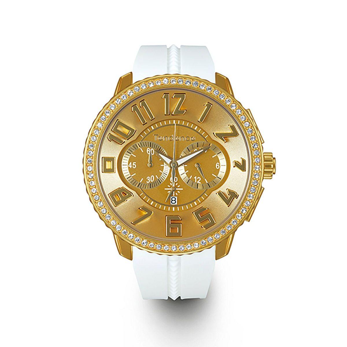 ※【今ならオーバーサイズノートプレゼント】 テンデンス Tendence TY146010 アルテックラグジュアリー クロノグラフ 正規品 腕時計