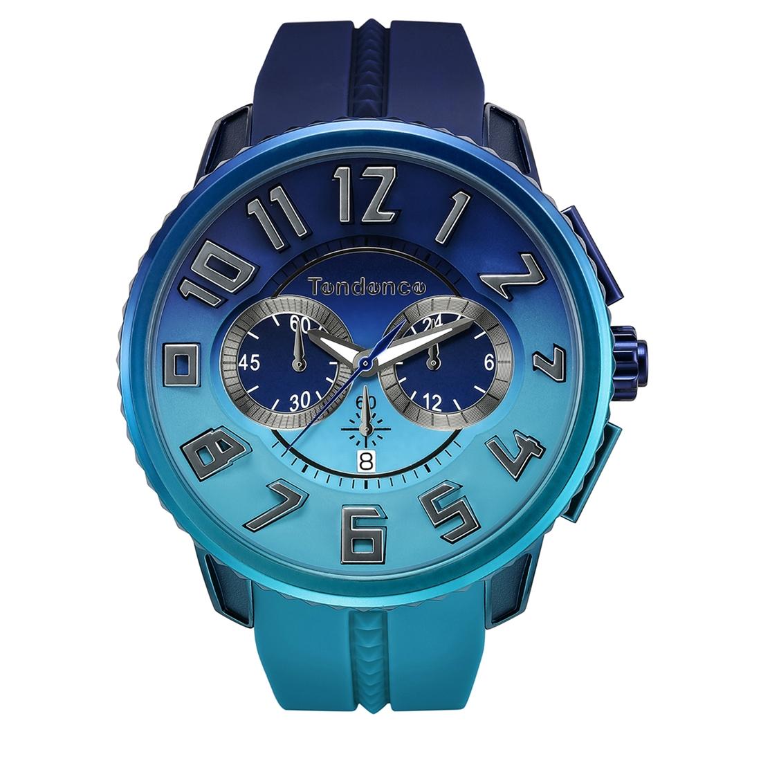 【今ならオーバーサイズノートプレゼント】 テンデンス Tendence TY146101 ディカラー オーシャン(海) 日本限定モデル 正規品 腕時計