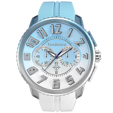 【今ならオーバーサイズノートプレゼント】 テンデンス Tendence TY146105 ディカラー スカイ(空) 正規品 腕時計