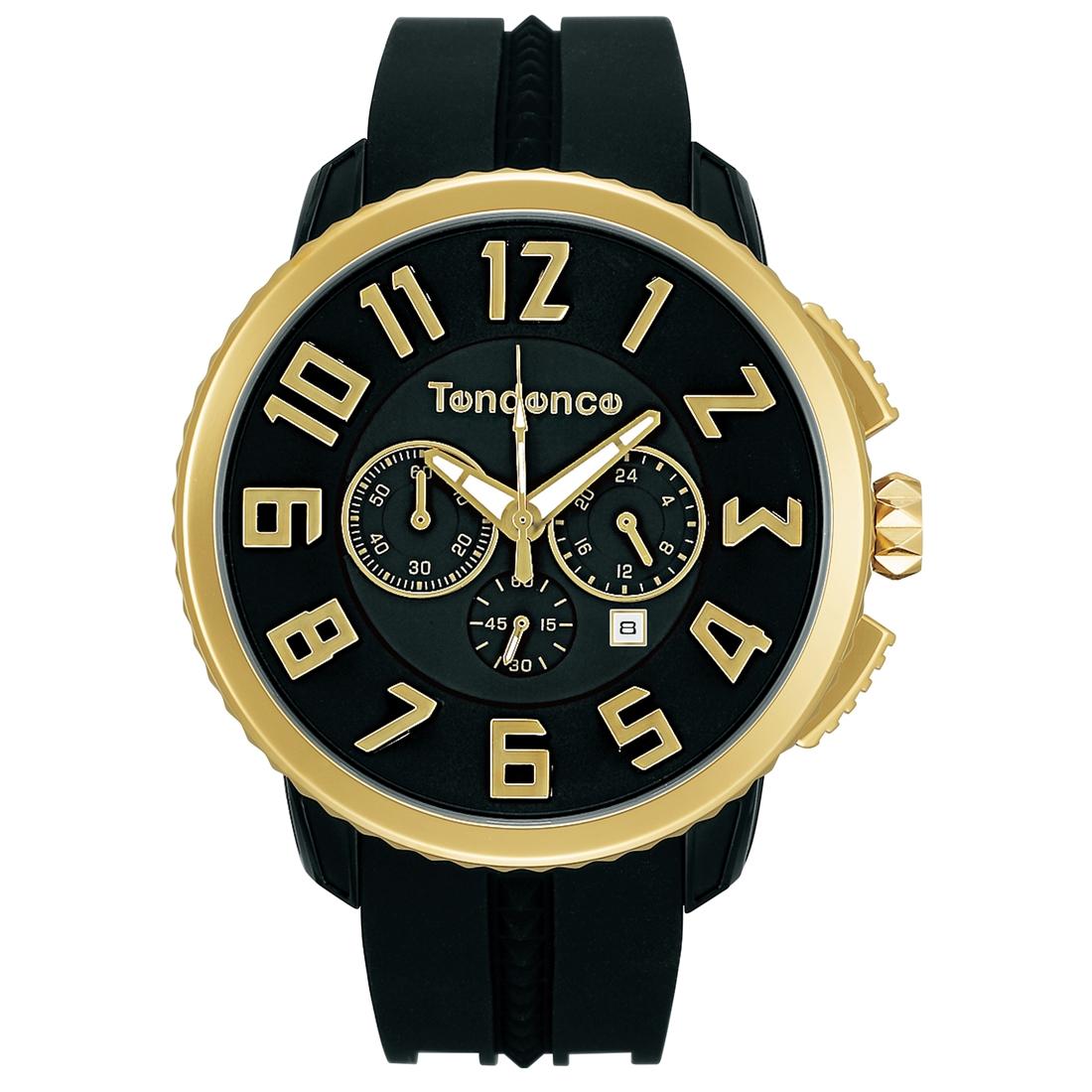 【今ならオーバーサイズノートプレゼント】 テンデンス Tendence TY460011 ガリバー 47 クロノグラフ 正規品 腕時計