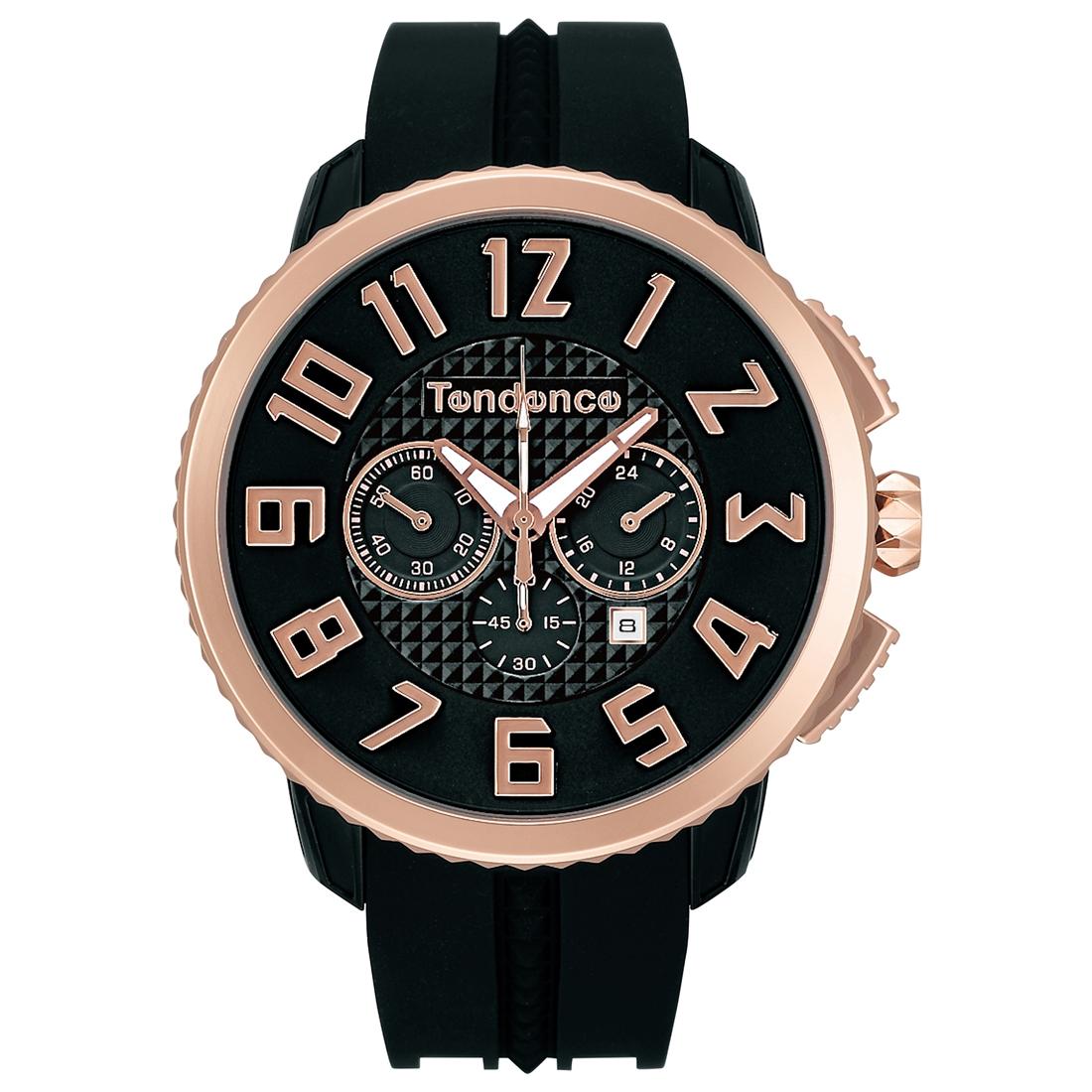 【今ならオーバーサイズノートプレゼント】 テンデンス Tendence TY460013 ガリバー 47 クロノグラフ 正規品 腕時計