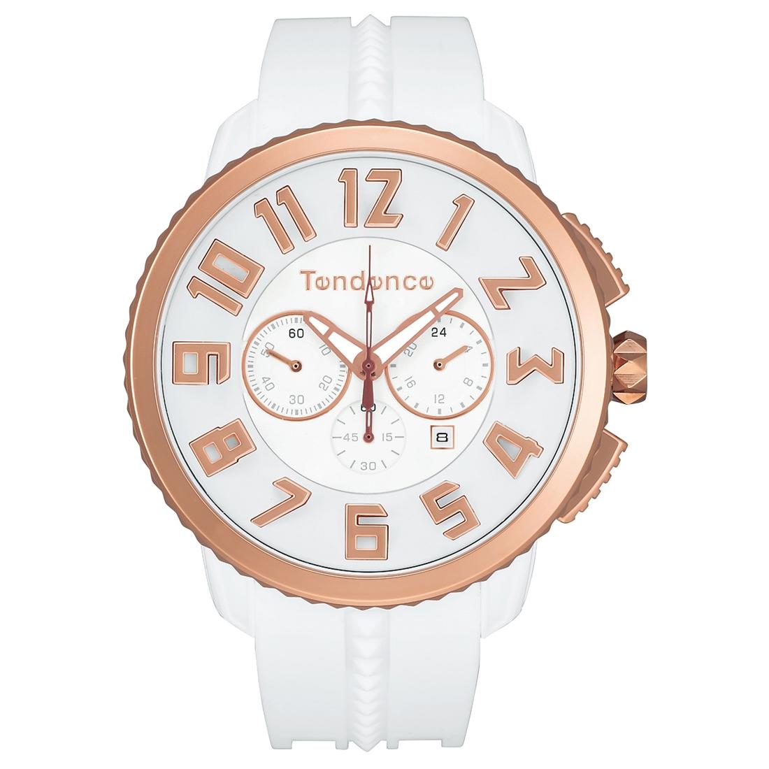 【今ならオーバーサイズノートプレゼント】 テンデンス Tendence TY460015 ガリバー 47 クロノグラフ 正規品 腕時計