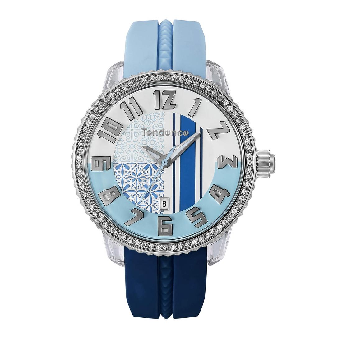 【今ならオーバーサイズノートプレゼント】 テンデンス Tendence TY930064 クレイジー 正規品 腕時計