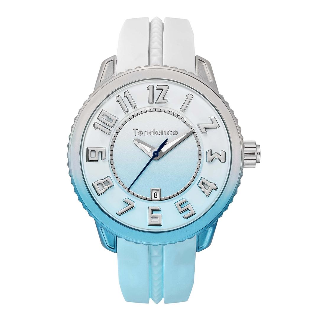【1/13までトートバッグプレゼント】 正規品 Tendence テンデンス TY933001 ディカラー スカイ 腕時計