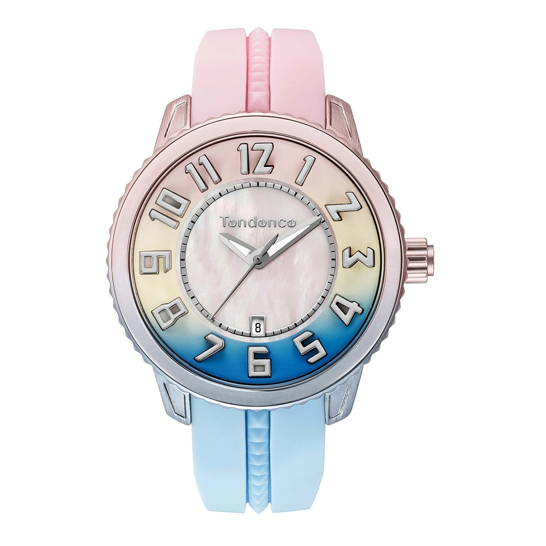 【今ならオーバーサイズノートプレゼント】 テンデンス Tendence TY933003 ディカラー スプリングサンセット 正規品 腕時計