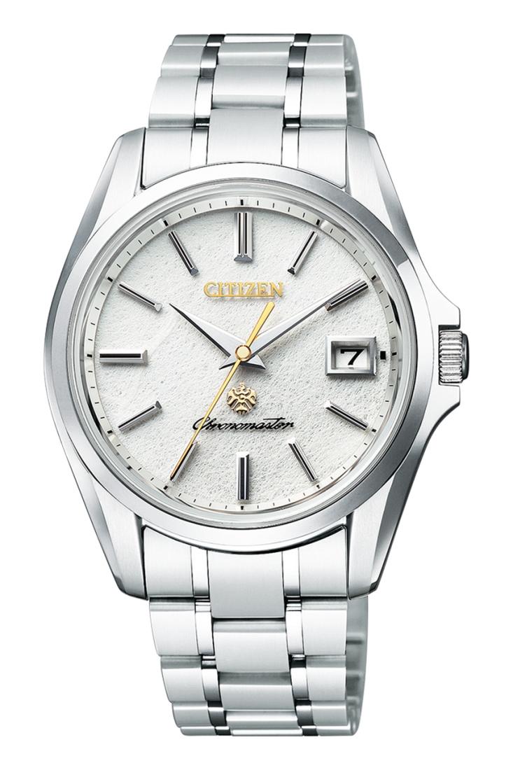 正規品 The CITIZEN ザ・シチズン AQ4021-51W 土佐雲龍紙(うんりゅうし)採用限定モデル 限定300本 腕時計