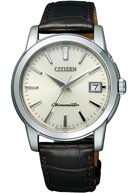 "The CITIZEN CTQ57-1203 ""Stainless steel model"""