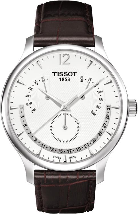 正規品 TISSOT ティソ T063.637.16.037.00 T-CLASSIC T-クラシック ティソ トラディション パーペチュアルカレンダー 腕時計