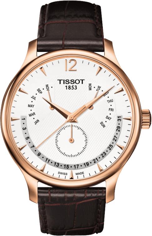 正規品 TISSOT ティソ T063.637.36.037.00 T-CLASSIC T-クラシック ティソ トラディション パーペチュアルカレンダー 腕時計