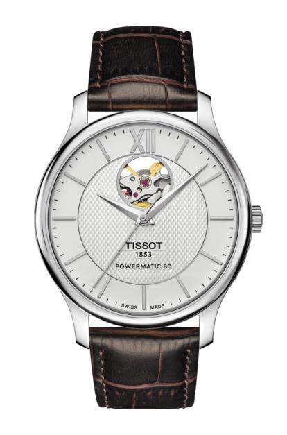ティソ TISSOT T063.907.16.038.00 トラディション オートマチック オープンハート 正規品 腕時計