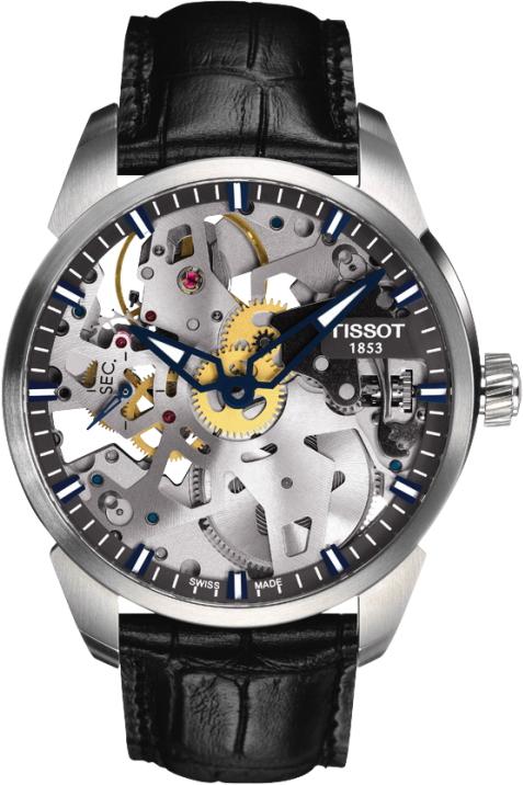 正規品 TISSOT ティソ T070.405.16.411.00 T-コンプリカシオン スケレッテ 腕時計