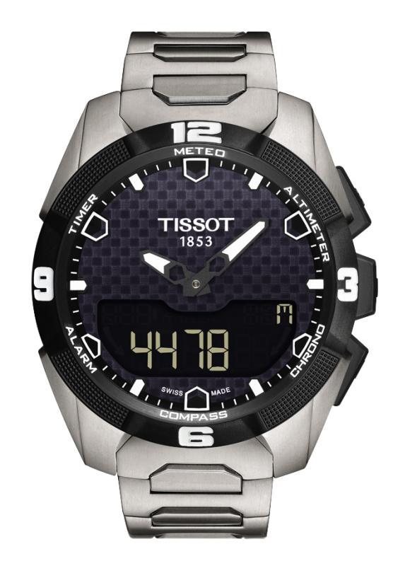 正規品 TISSOT ティソ T091.420.44.051.00 TOUCH COLLECTION タッチコレクション T-タッチ エキスパート ソーラー 腕時計