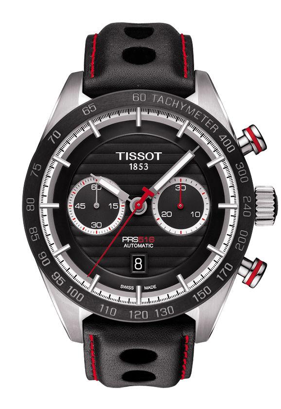 ティソ TISSOT T100.427.16.051.00 PRS 516 オートマチック クロノグラフ 正規品 腕時計