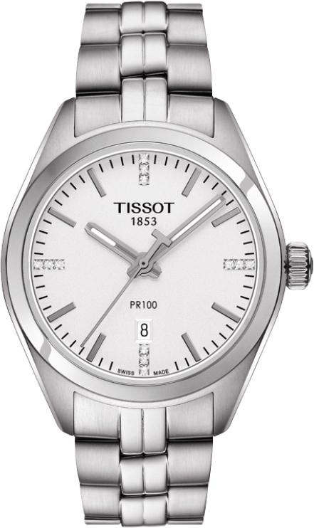 正規品 TISSOT ティソ T101.210.11.036.00 PR 100 クォーツ レディ 腕時計