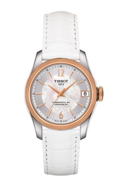 正規品 TISSOT ティソ T108.208.26.117.00 T-クラシック バラード パワーマティック80 COSC レディ 腕時計