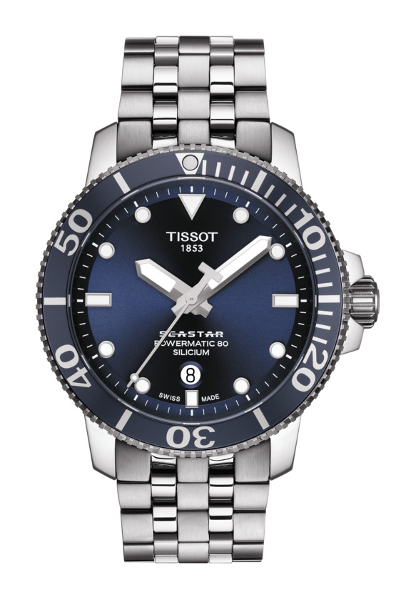 正規品 TISSOT ティソ T120.407.11.041.01 T-スポーツ シースター1000 オートマティック シリシウム シリコン製ひげゼンマイ 腕時計