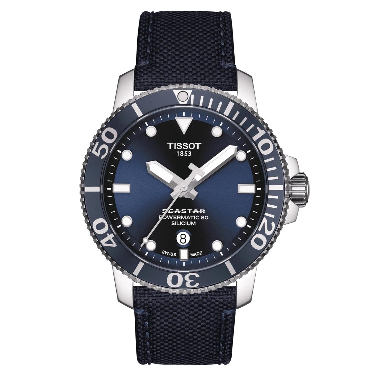 ティソ TISSOT T120.407.17.041.01 T-スポーツ シースター1000 オートマティック シリシウム シリコン製ひげゼンマイ 正規品 腕時計