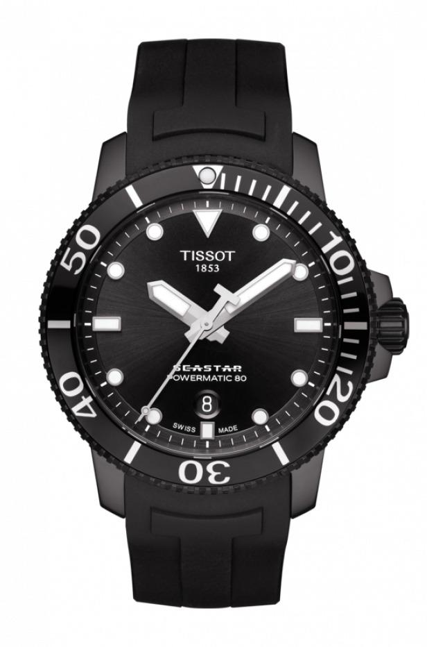 正規品 TISSOT ティソ T120.407.37.051.00 T-スポーツ シースター1000 オートマティック 腕時計