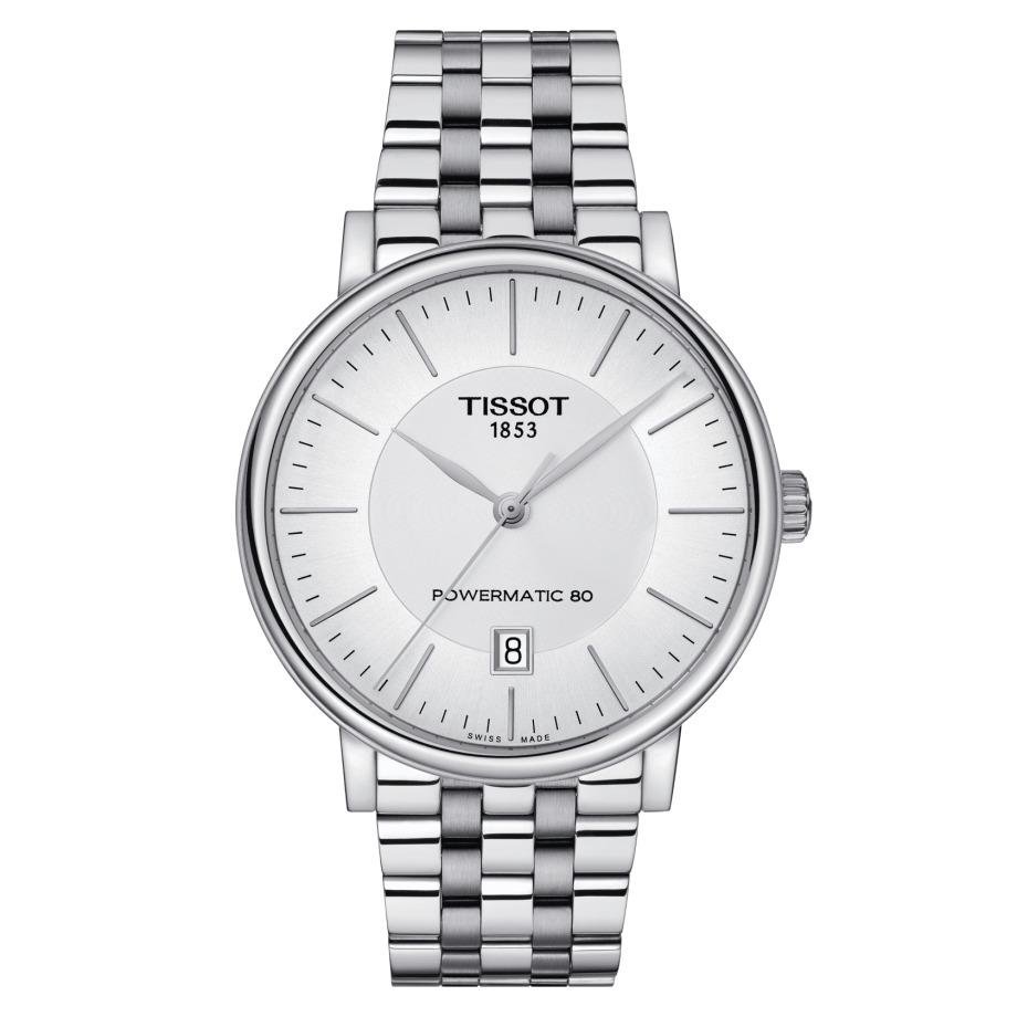 ティソ TISSOT T122.407.11.031.00 T-クラシック カーソン プレミアム パワーマティック80 正規品 腕時計