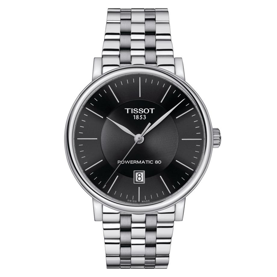 ティソ TISSOT T122.407.11.051.00 T-クラシック カーソン プレミアム パワーマティック80 正規品 腕時計