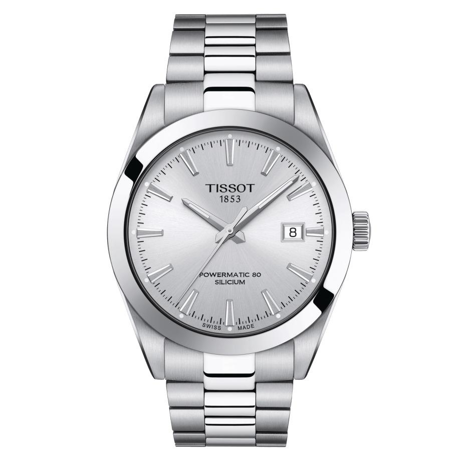 ティソ TISSOT T127.407.11.031.00 ジェントルマン パワーマティック80 シリシウム 正規品 腕時計