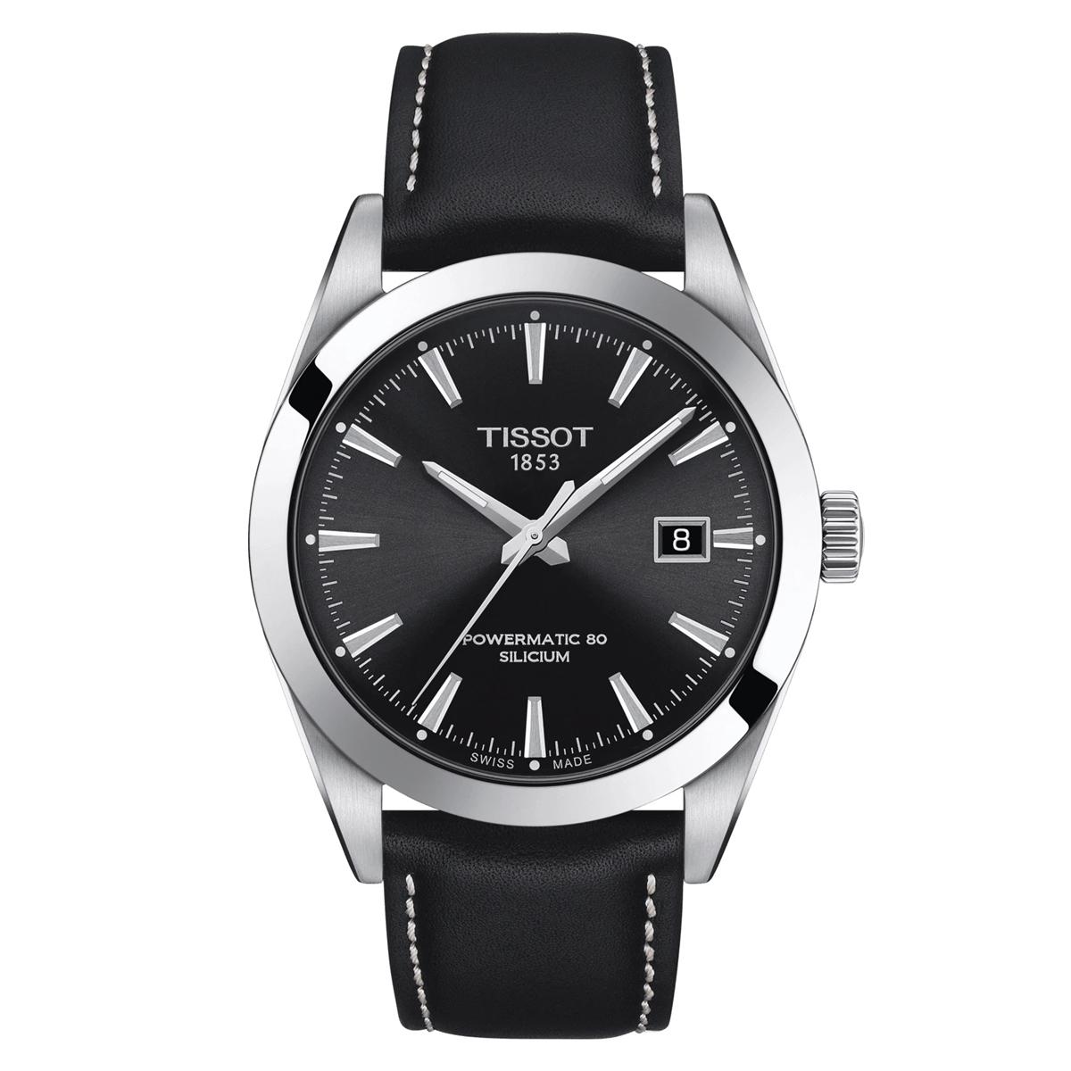 ティソ TISSOT T127.407.16.051.00 ジェントルマン パワーマティック80 シリシウム 正規品 腕時計