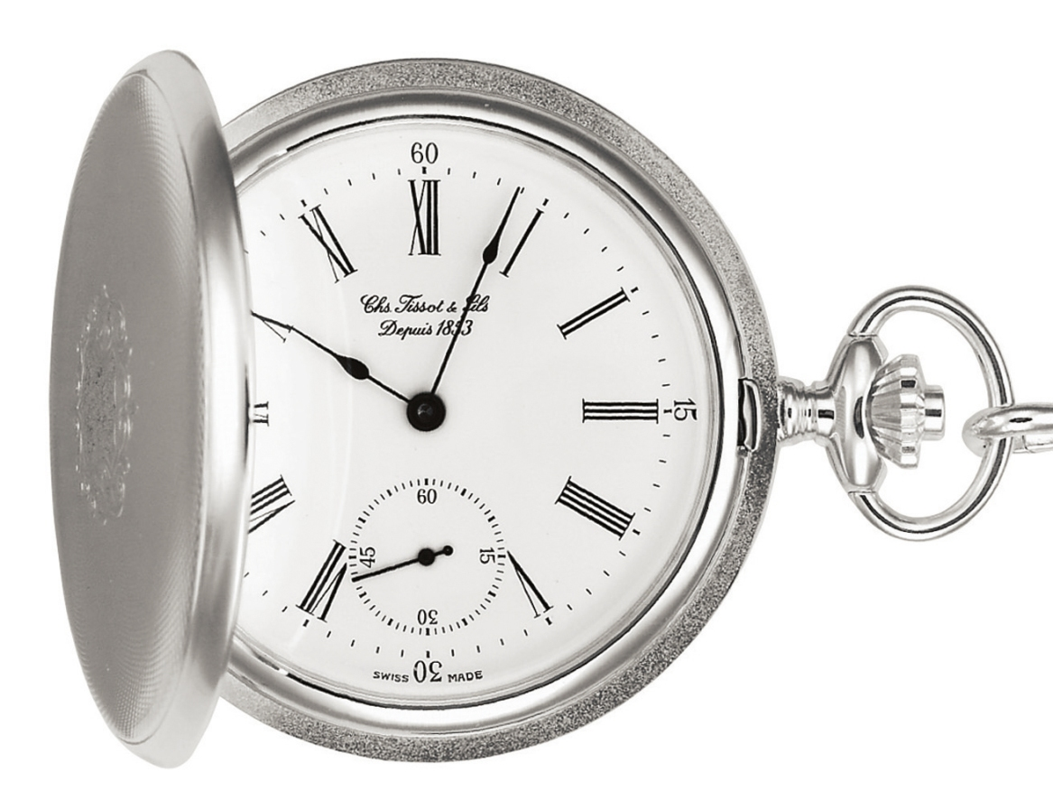 "TISSOT  T83.1.452.13 ""T-POCKET  SAVONNETTE MECHANICAL """